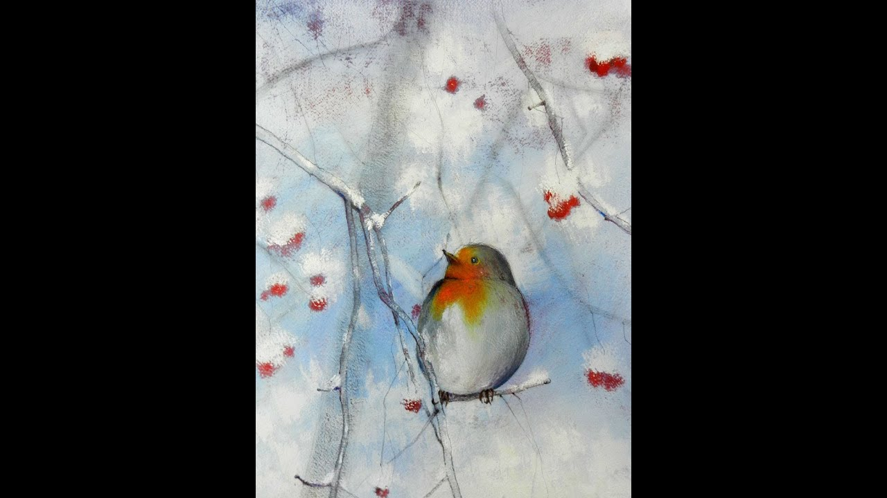 Tutorial inverno 01 come realizzare un dipinto con le for Quadri facili da dipingere