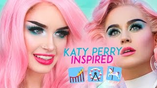 KATY PERRY - CHAINED TO THE RHYTHM MAKEUP TUTORIAL | ATLEEEEY