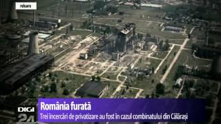ROMÂNIA FURATĂ Siderca Călăraşi - cel mai vânat furnizor de fier vechi