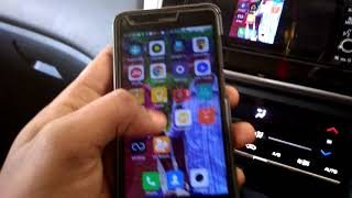 Honda city phone mirroring