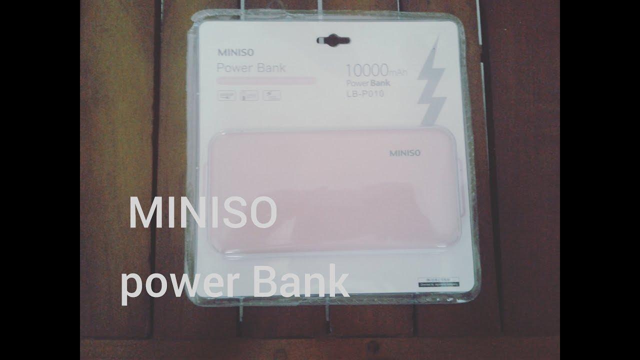 Miniso Power Bank Youtube