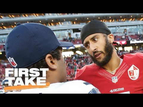 Colin Kaepernick And The Seahawks: Good Fit? | First Take | May 25, 2017