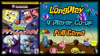 SpongeBob SquarePants: Lights, Camera, Pants! - Longplay (4 Player Co-op) Full Game Walkthrough