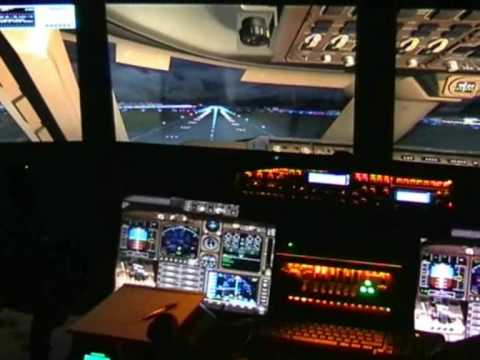SIMULATORE DI VOLO FSX home cockpit