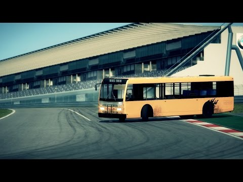 Assetto Corsa | Drifting in Nür with a BUS!