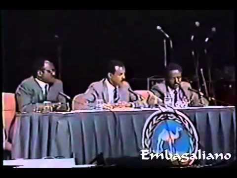 President Isayas Speech WD 1993