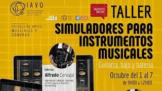 💻🎸🎚 Simuladores para instrumentos musicales 1