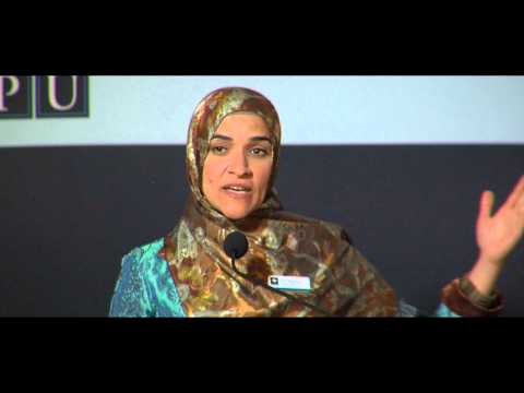 Dalia Mogahed Presentation At Ispus Spring Dinner