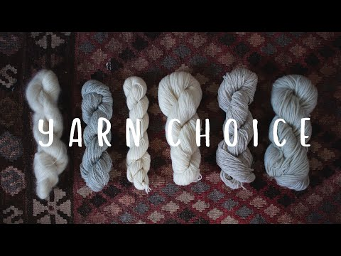 Fiber Tales Podcast Special | Episode 34 | My Thoughts On Yarn Choice