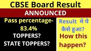 CBSE Board result announced, CBSE Highschool and Intermediate results