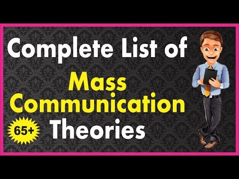 Complete List Of Mass Communication Theories Lecture In Hindi L UGC NET MASS COMM