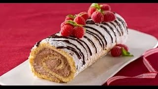 Swiss Holiday Cake Roll Recipe