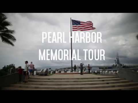 Pearl Harbor Tour - Oahu Hawaii 2017