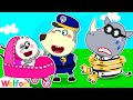 Police Wolfoo Protects Baby From Strangers - Wolfoo Pretends to Be a Parent | Wolfoo Channel
