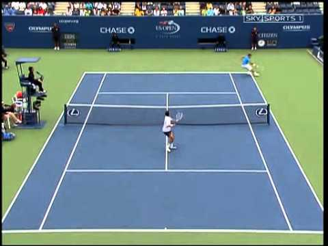 Roger Federer VS Tim Henman -- US Open 2006 [Highlights]