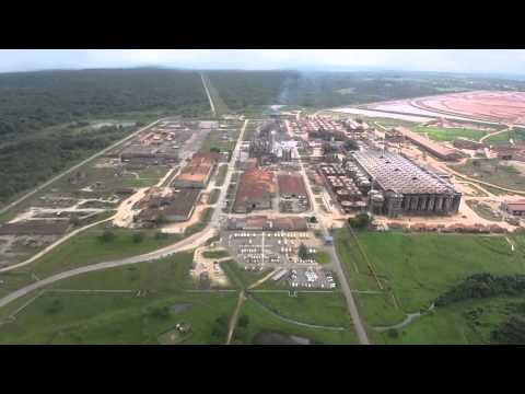 Suralco Paranam K.Sewdajal NV   -    Surinam South Anerica by Drone