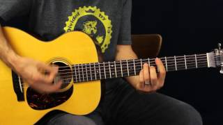 How To Play - Thomas Rhett - Make Me Wanna - Acoustic Guitar Lesson - EASY Song