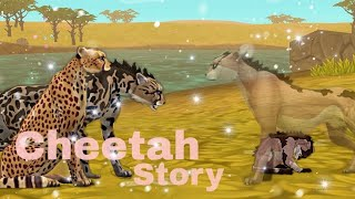 Cheetah Story 🐆 WildCraft 🌟