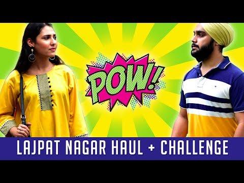 Lajpat Nagar Market Shopping Challenge Under Rs.500 & Try On Haul 2018