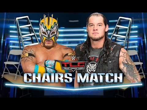 WWE TLC 2016 - Kalisto vs Baron Corbin (Chairs Match) - WWE 2K17