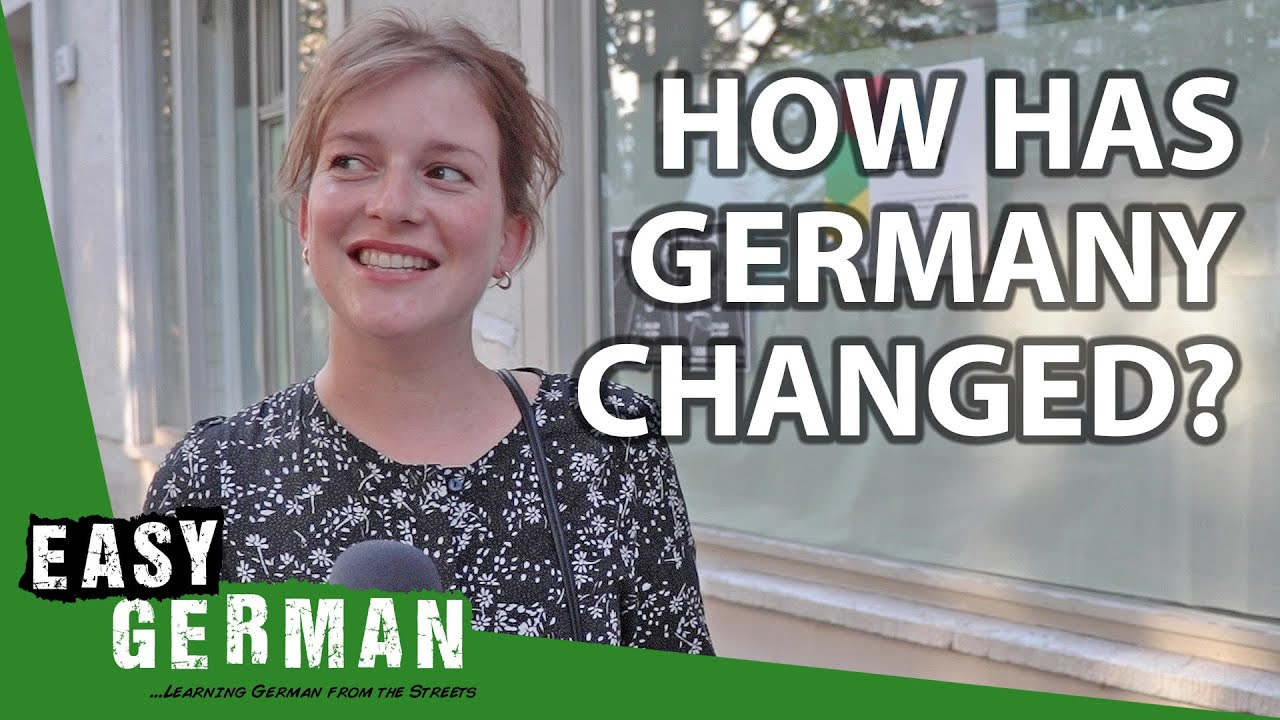 How Has Germany Changed Since Your Childhood? | Easy German 355