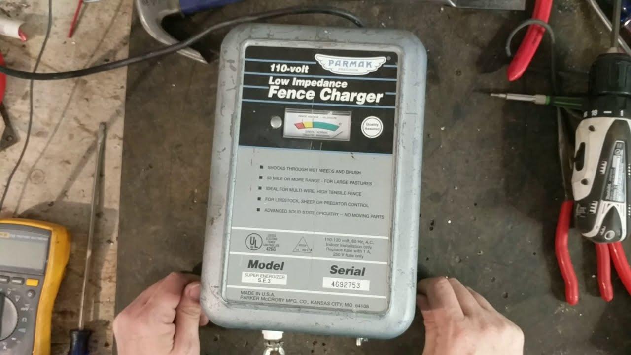 parmak se 3 fence charger repair [ 1280 x 720 Pixel ]