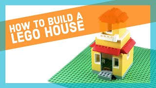 How to build a Lego house -  step by step building instructions