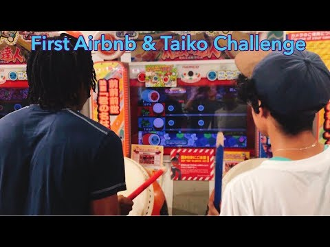 First AIRBNB Stay in Shibuya, Japan & Taiko Challenge