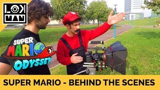 Real life Super Mario Odyssey - Behind the scenes