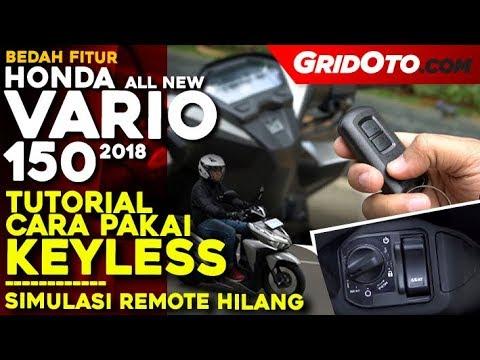 tutorial penggunaan keyless honda vario 150 2018 test ride review gridoto youtube. Black Bedroom Furniture Sets. Home Design Ideas