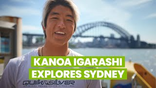 WSL Pro Surfer Kanoa Igarashi explores Sydney