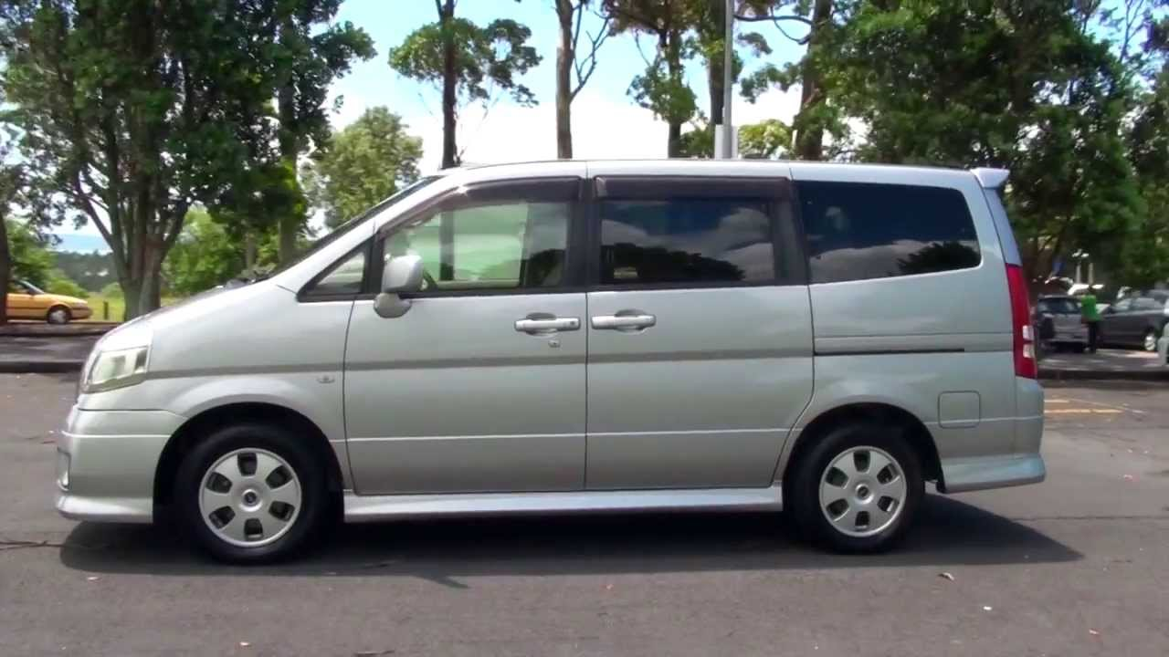 Nissan Serena 1 6nissan 6 V G Navi Package Largo Wiring Diagram 2005 2 0l Auto Youtube
