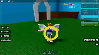 Playing roblox 5 levels in 2min