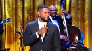 Usher sings What I'd Say 2016 Ray Charles Tribute in 1080p HD & HQ live.