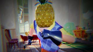 MY NEW NEIGHBOR IS A PINEAPPLE - Hello Neighbor Act 1