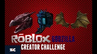 WIN THESE AWARDS BY ANSWERING THE▶Roblox Creator Challenge Godzilla◀ 2019-XChaurio247
