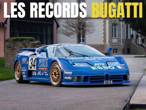 Bugatti : ses records les plus fous !
