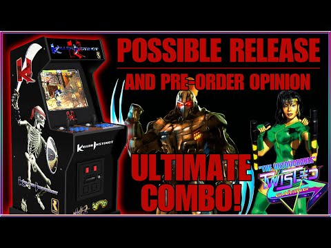 Arcade1up Killer Instinct - Release Date and Preorder Opinion! from TwistedGamingTV