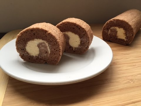 How To Make Chocolate Swiss Roll Cake Resep Bolu Gulung Coklat Youtube