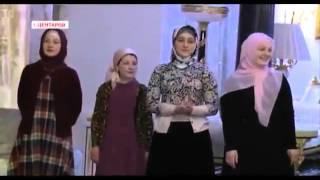 Дети и жена Рамзан Кадырова