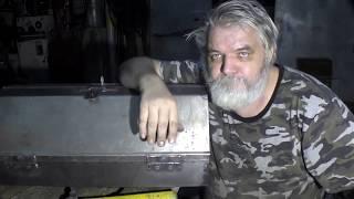 Инструментальный ящик из железа, своими руками.