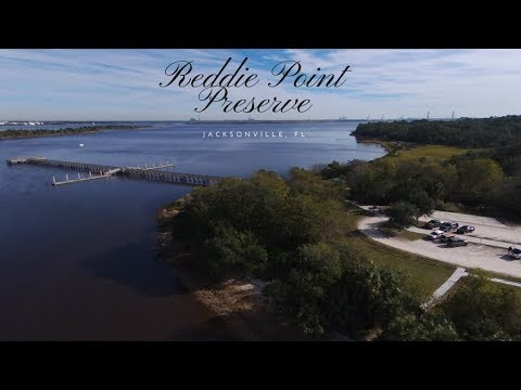 Reddie Point Preserve (Bebop2 flight & fishing) Jax, FL.