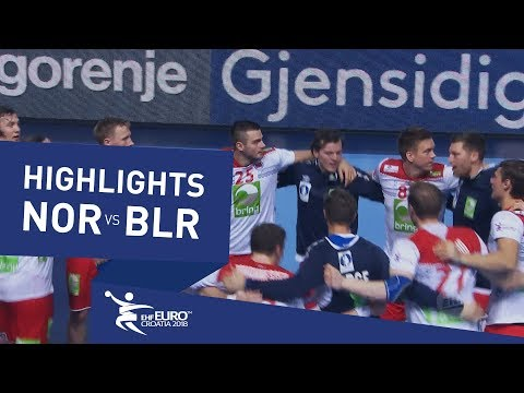 Highlights | Norway vs Belarus | Men's EHF EURO 2018