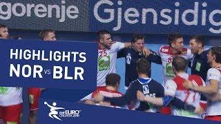 Highlights | Norway vs Belarus | Men's EHF EURO 2018