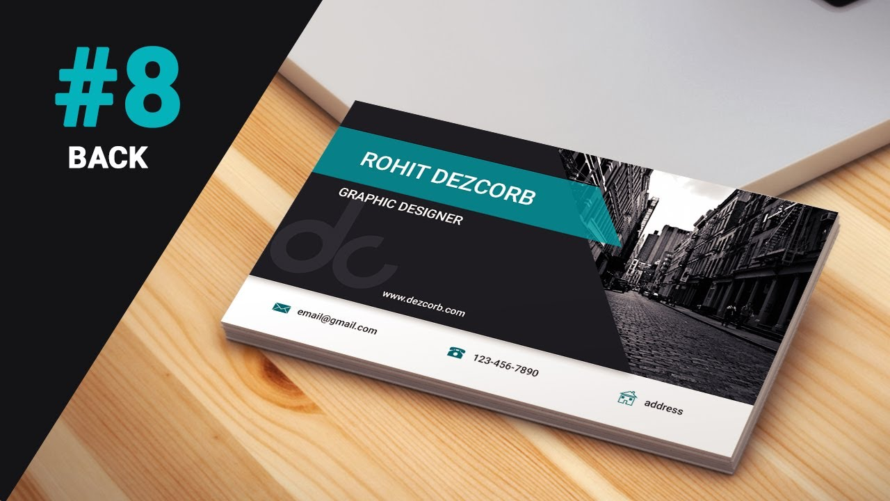8 how to design business cards in photoshop cs6 classy business