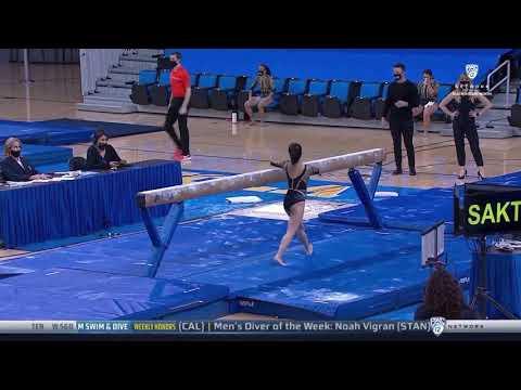 Samantha Sakti Beam UCLA vs Oregon State 2021 9.900