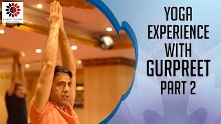 Bharat Thakur Artistic Yoga experience with Gurpreet | Part 2