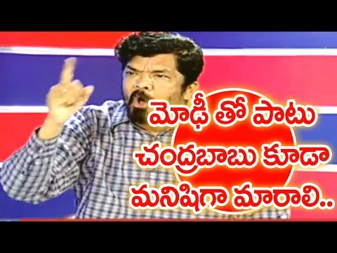 Actor Posani Krishna Murali Relates All Politicians to Corrupted Leaders   #PrimeTimeWithMurthy #1