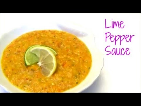 Trinidad Lime Pepper Sauce Recipe Episode 102