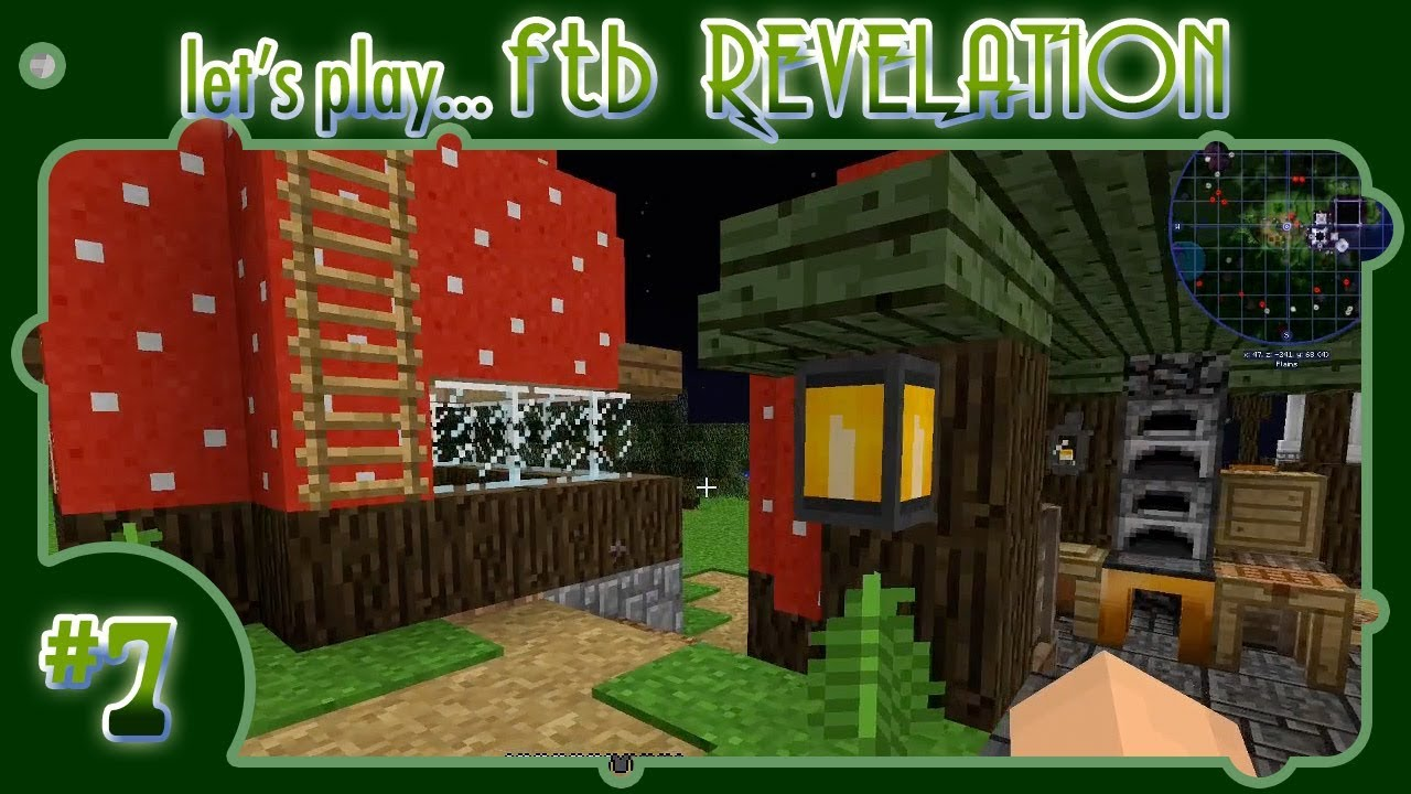 Let's Play    FTB Revelation! #7: My new BFF, the Feral Flare Lantern!